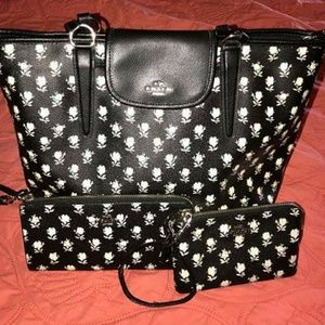 COACH BADLANDS 3PC. TOTE SET!😮😮